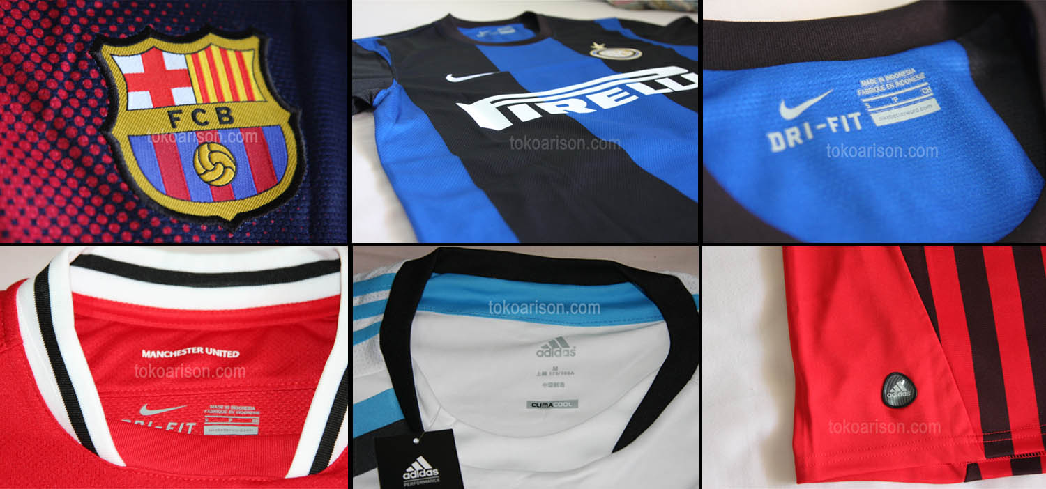 Detail Jersey Bola
